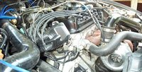 1996 Honda Civic EX, D15 ported & boosted, engine