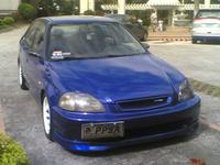 1997 Honda Civic EX, 1997 Honda Civic 4 Dr EX Sedan picture, exterior