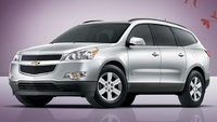 2010 Chevrolet Traverse, Front-quarter view, manufacturer, exterior