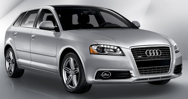 2010 Audi A3, Front-quarter view, exterior, manufacturer