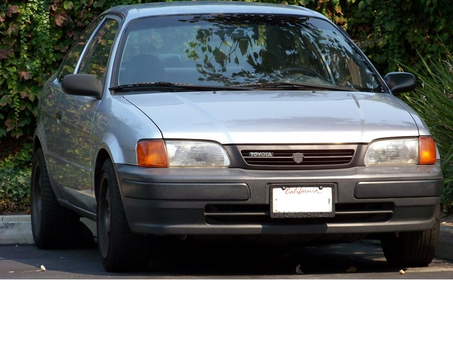 1995 Toyota Tercel 2 Dr STD Coupe, going for a subtle look, exterior