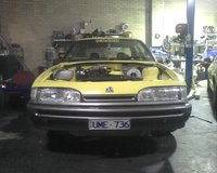 Picture of 1987 Holden Commodore, engine