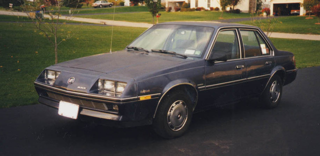 Picture of 1984 Buick Skyhawk, exterior