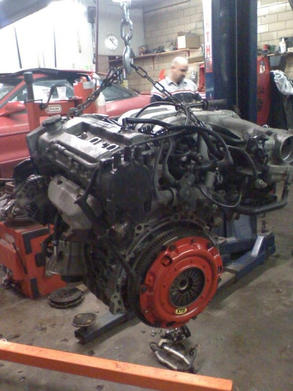 mazda klze engine swap