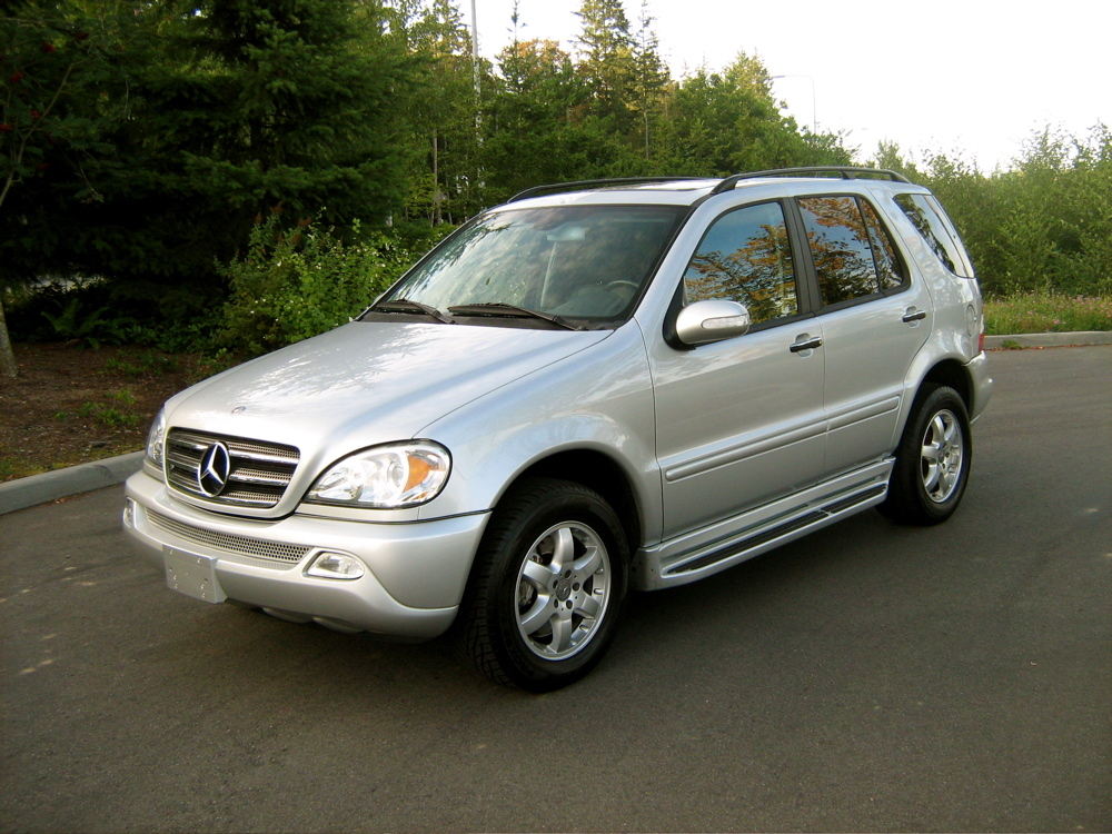 Picture of 2004 mercedes benz m class ml500 exterior for Mercedes benz m class mercedes suv