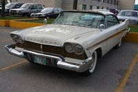 1957 Plymouth Belvedere, In trying to make my Belveder look more like a 57 Fury, I install a set of Fury wheel covers, and painted the grill gold ... , exterior