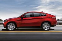 2009 BMW X6 xDrive50i, side view, exterior, manufacturer