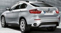 2009 BMW X6 xDrive35i, back view, exterior, manufacturer