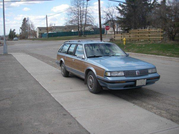 1990 Oldsmobile Cutlass Ciera 4 Dr SL Cruiser Wagon picture, exterior