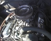 1970 Pontiac Firebird picture, engine