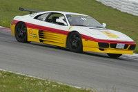 1992 Ferrari 348, at the track, exterior