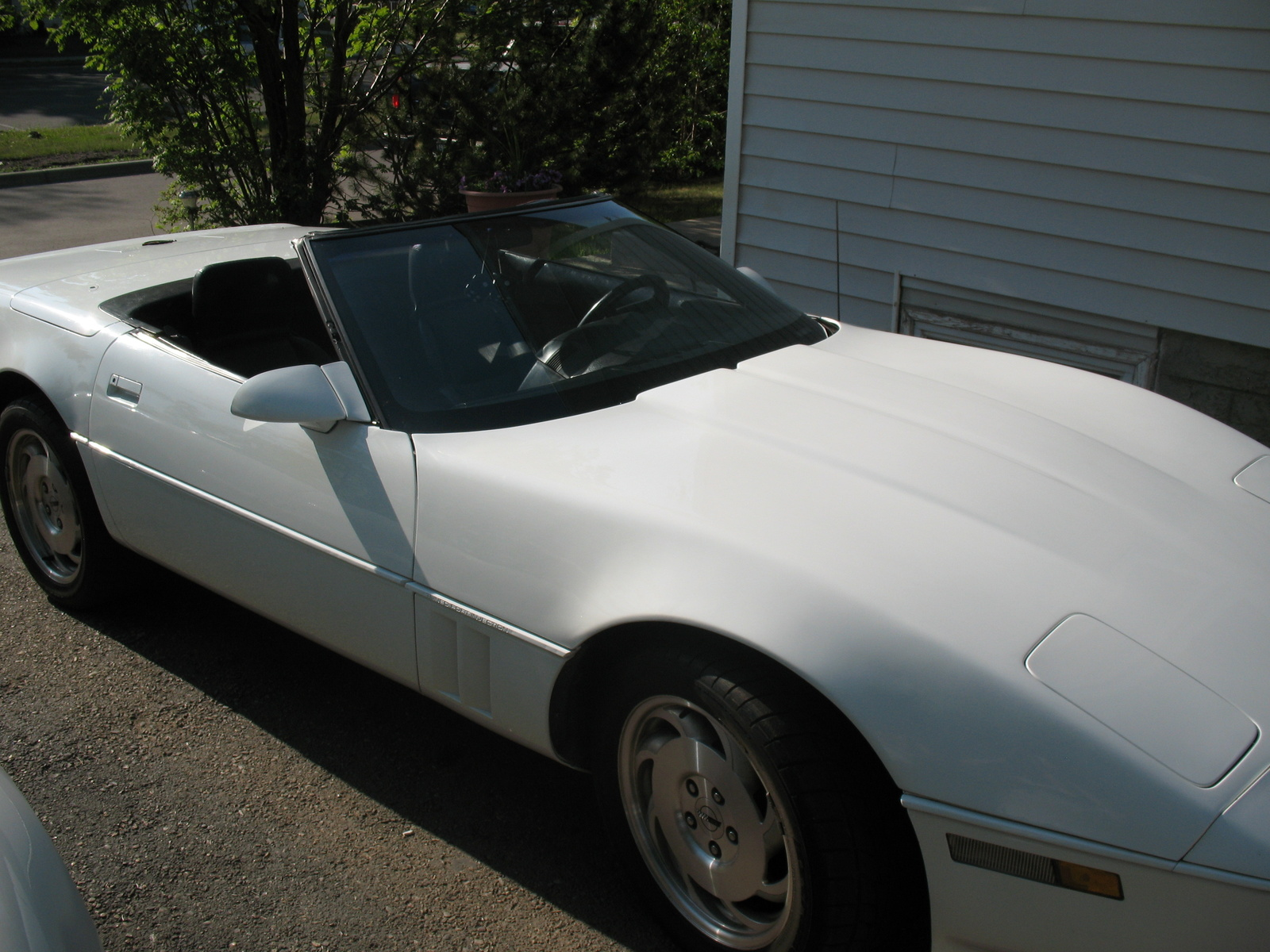 1991 Chevrolet Corvette Convertible, 1991 Chevrolet Corvette 2 Dr STD Convertible picture, exterior