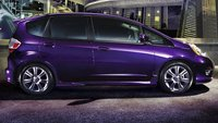 2010 Honda Fit, side view, exterior, manufacturer