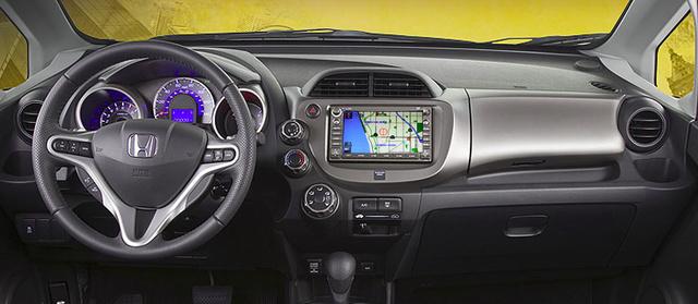2010 Honda Fit, dashboard, interior, manufacturer