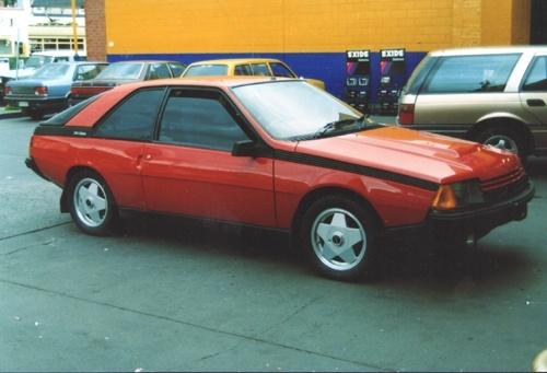 Renault fuego 1984