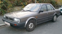 1987 Nissan Bluebird Overview