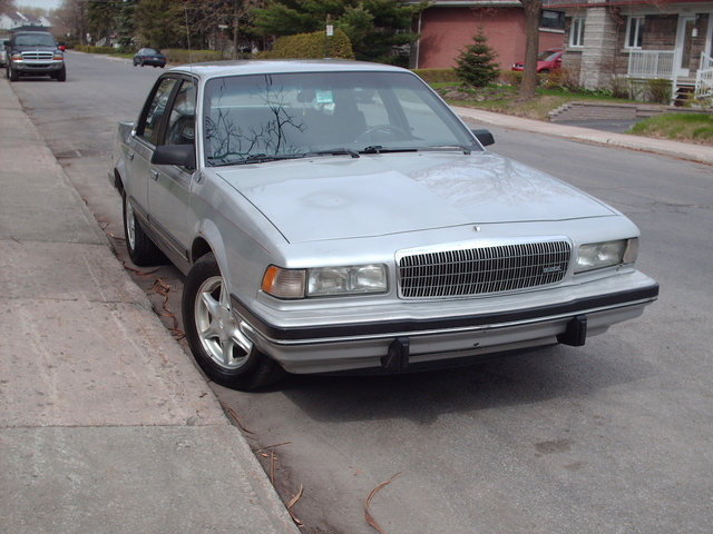 Picture of 1992 Buick Century Limited Sedan FWD, exterior, gallery_worthy