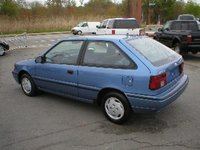 Picture of 1992 Hyundai Excel 2 Dr GS Hatchback, exterior