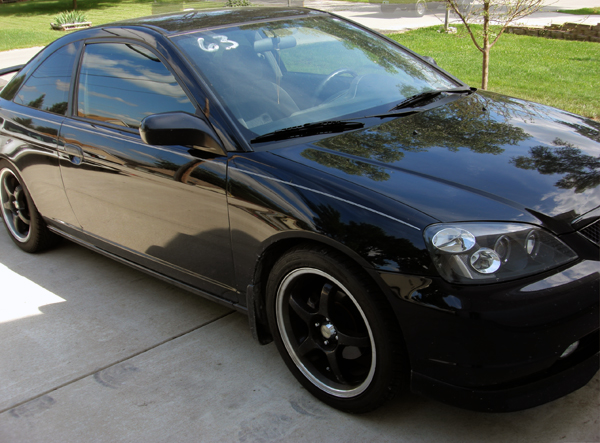 Honda Civic Coupe 2002 Tuning