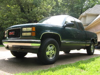 Picture of 1995 GMC Sierra 1500 K1500 SLE 4WD Extended Cab SB, exterior