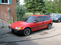 Picture of 1990 Honda Civic Hatchback, exterior, gallery_worthy