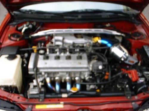Picture of 1996 Toyota Corolla DX Wagon, engine