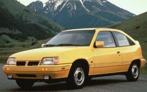 1992 Pontiac Le Mans 2 Dr Se Coupe Pic 3726060204548828382