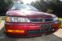 1997 Honda Accord LX, 1997 Honda Accord 4 Dr LX Sedan picture, exterior