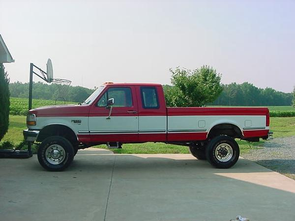 Ford F-250 Extended Cab