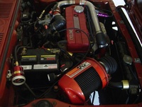 1980 Mitsubishi Colt picture, engine