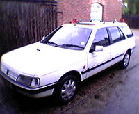 1994 Peugeot 405 Overview