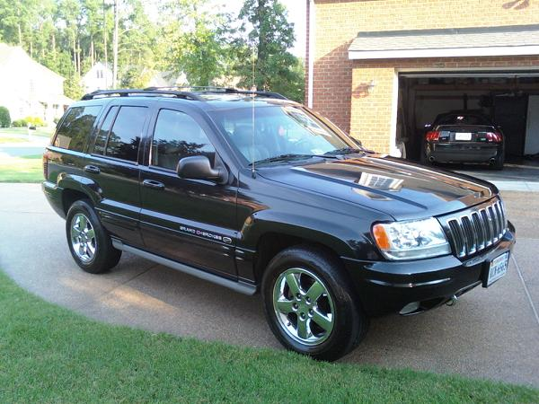 picture of 2003 jeep grand cherokee overland 4wd exterior. Black Bedroom Furniture Sets. Home Design Ideas