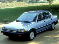 1986 Honda Civic Base, 1986 Honda Civic Sedan picture, exterior