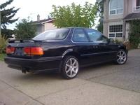 1992 Honda Accord EX Coupe, 1992 Honda Accord 2 Dr EX Coupe picture, exterior