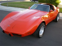 Picture of 1976 Chevrolet Corvette Coupe, exterior