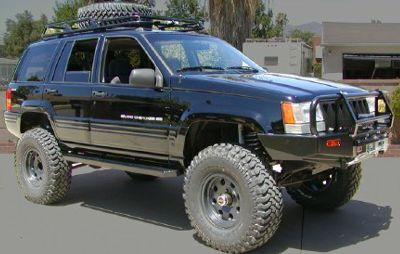 1994 Jeep Cherokee 4 0 Engine Five Inch Rustys Offroad Lift Kit