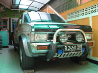 1997 Nissan Terrano II Picture Gallery