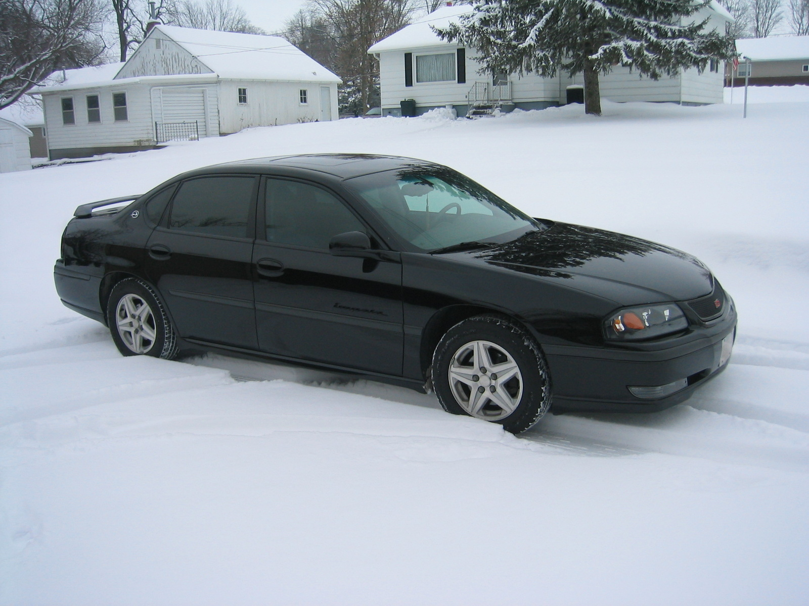 2008 Chevy Malibu Used Picture of 2003 Chevrolet Impala LS, exterior