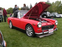 1972 MG Midget picture, engine, exterior