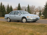 1993 Mercury Sable, 1993 Mercury Topaz 2 Dr GS Coupe picture, exterior