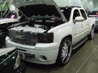 Picture of 2008 GMC Sierra 1500 SLT Ext. Cab 4WD, exterior, engine