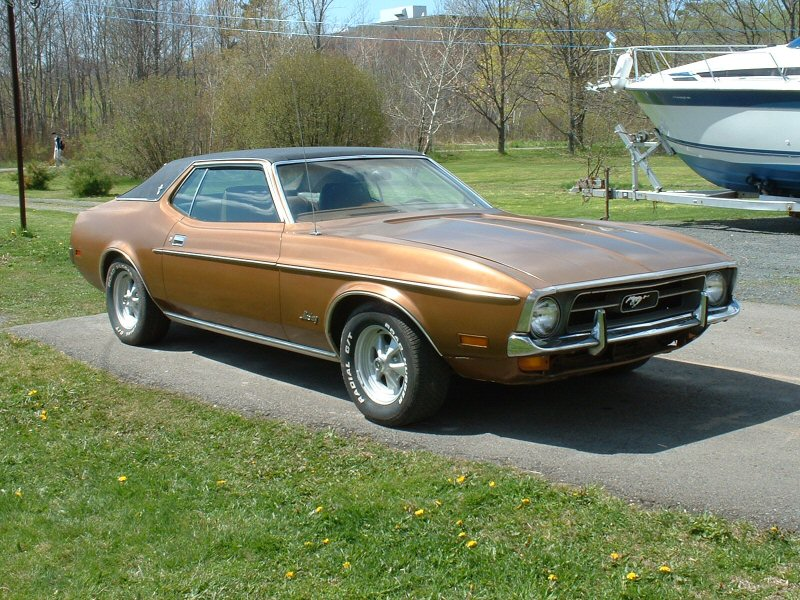 1972 Ford Mustang Grande picture, exterior