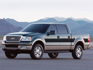 2004 Ford F-150 4 Dr Lariat Crew Cab 5.5 ft. SB picture