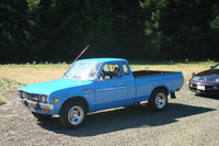 1978 Datsun 620 Pick-Up, My 1977 Datsun 620- now with slotted mags and some new paint. A 5 speed transmission too., exterior