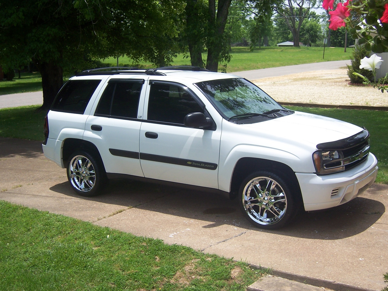 White 2002 Chevy Impala >> 2003 Chevrolet TrailBlazer - Overview - CarGurus