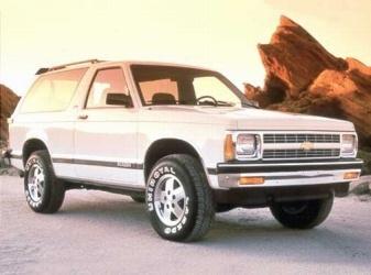 Picture of 1990 Chevrolet S-10 Blazer STD 4WD SUV
