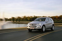 2010 Mercedes-Benz M-Class, Front Left Quarter View, exterior, manufacturer