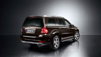 2010 Mercedes-Benz GL-Class, Back Right Quarter View, exterior, manufacturer