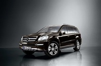 2010 Mercedes-Benz GL-Class, Front Left Quarter View, manufacturer, exterior