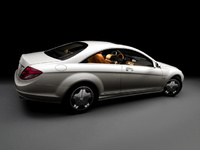 2010 Mercedes-Benz CL-Class, Right Side View, manufacturer, exterior